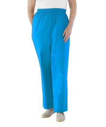 Pantalons Adaptés sans siège en Coton pour Femmes  - Pantalons Adaptés aux Chaises Roulantes