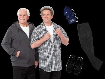 Kit Parkinson pour hommes (Collection confort décontracté)