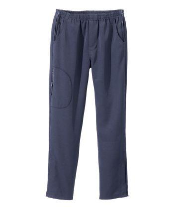 Pantalon adapté femme fermeture éclair sur les côtés