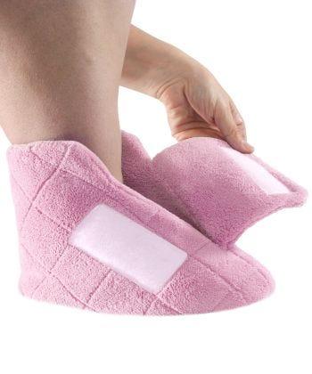 Womens Extra Wide Swollen Feet Slippers