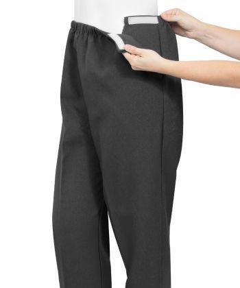 Pantalon Adapté avec Bande Auto Agrippante - Pantalons Adaptés pour Adultes Arthritiques