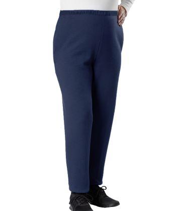 Pantalon adapté en molleton - Bande auto-grippante - Ouverture sur les côtés