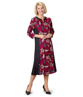 Robe adaptée femme confortable avec ouverture au dos