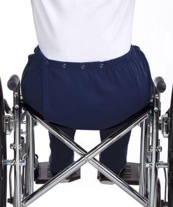 Pantalon Adapté en molleton - Pour femmes - Ouverture à l'arrière - Vêtement Adapté -  Adultes en Chaise roulante