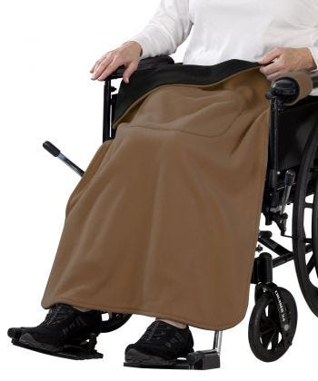 Couverture adaptée pour chaise roulante hommes & femmes