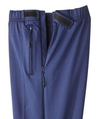 Pantalon dézippable avec fermeture autoagrippante  - Pantalon adapté avec 2 glissières sur les côtés - Pour adulte ayant l'arthrite ou des plâtres