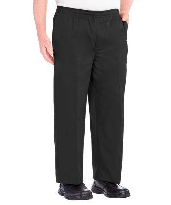 Pantalon à Ceinture élastique -  Pantalon en coton jambes larges - Liquidation