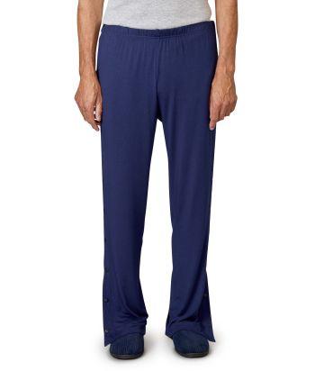 Pantalon post-chirurgical pour femmes et hommes avec boutons-pression