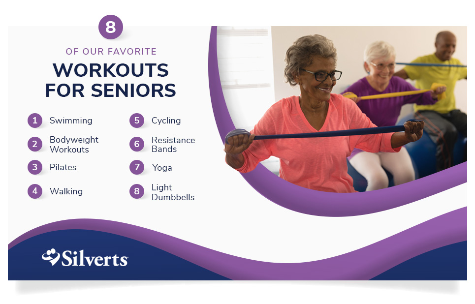 eight of our favorite workouts for seniors