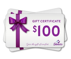 $100 Silverts Gift Certificate