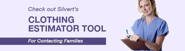 Clothing Assessment Tool for Contacting Families