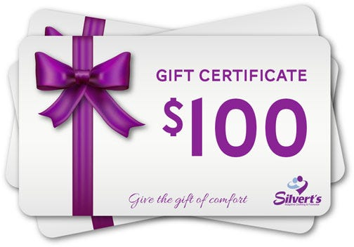 $100.00 Silverts Gift Certificate