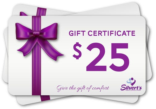 $25.00 Silverts Gift Certificate