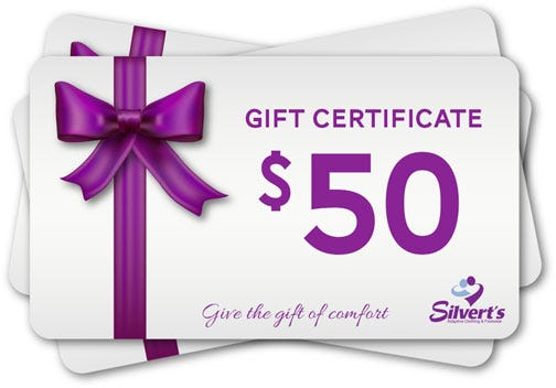 $50.00 Silverts Gift Certificate