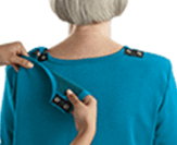 Open back adaptive tops