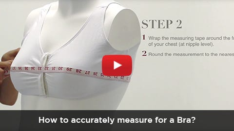 Silverts Bra Size Measurement - How to Accurately Measure your Bra Size