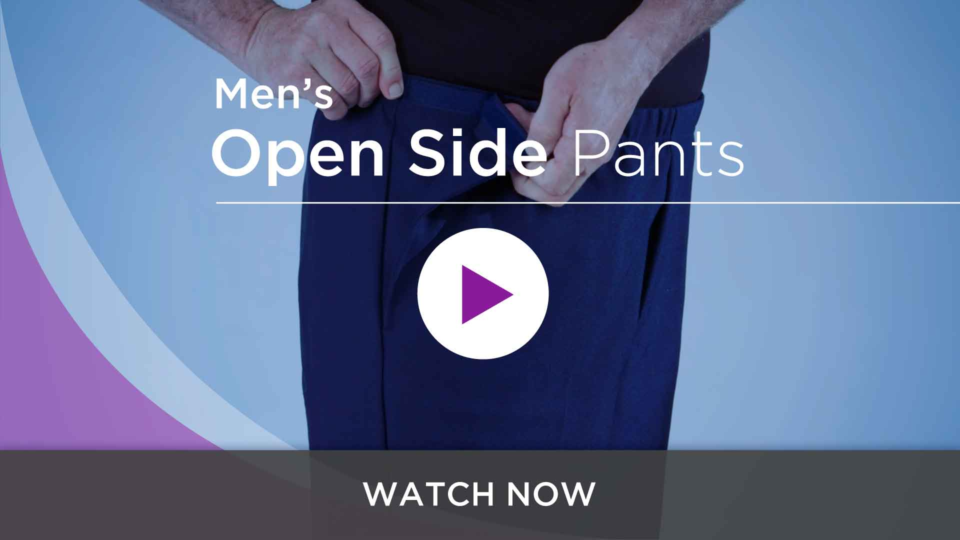Men's Open Side Pants