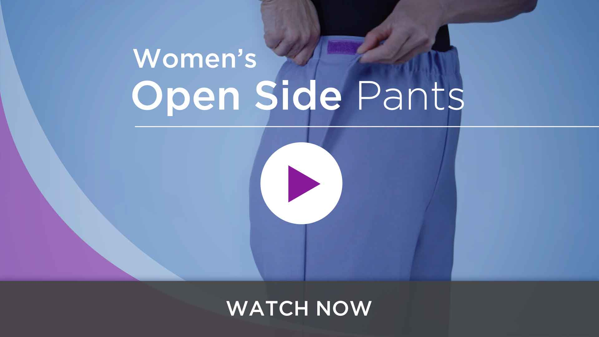 Women's Open Side Pants