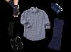 Men's Ease of Dressing Arthritis Kit (Navy Collection)