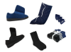 Men's Indoor & Outdoor Cozy Diabetic Footwear Kit (Navy Collection)