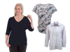 Women's Self Dressing Chic Basic Tops Set of 3