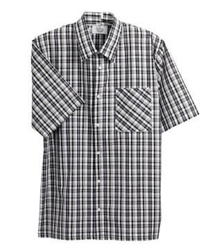 Men's Open Back Short Sleeve Shirt