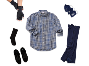 Men's Ease of Dressing Arthritis Kit (Navy Collection)