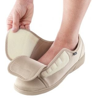 Antimicrobial Protection Extra Wide Shoes For Women