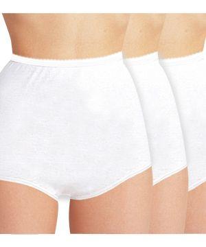 3 Pack Womens Cotton Briefs