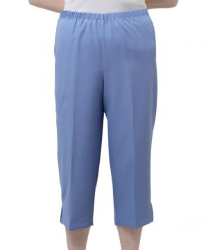 Women's Assisted Dressing Open Back Capris