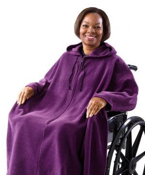 Wheelchair Cape with Hood - Women & Men