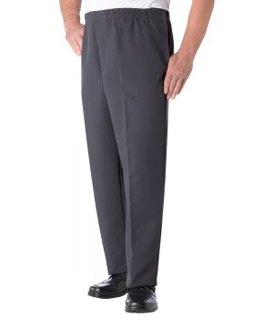 Men's Easy Access Pants with Elastic Waist