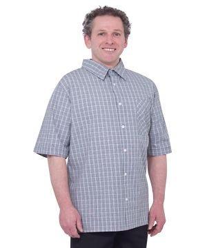 Men's Short Sleeve Adaptive Shirts