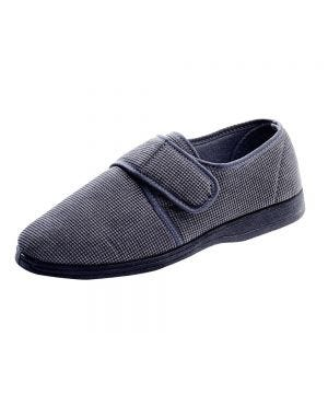 Men's Wide Adjustable Slippers