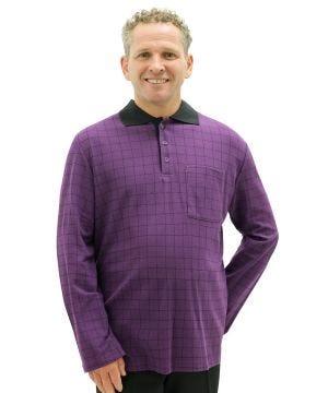 Mens Adaptive Polo Shirt Top - Adaptive Golf Shirt