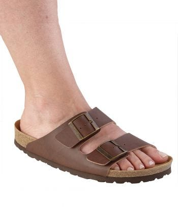 Womens Slip-On Shock-Absorbing Adjustable Sandal Shoes