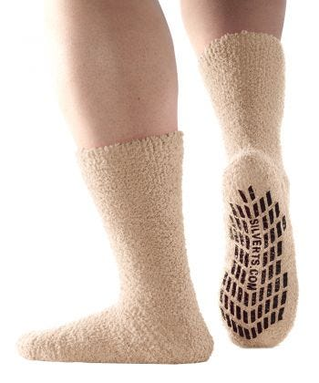 Unisex Hospital Slipper-Grip Socks