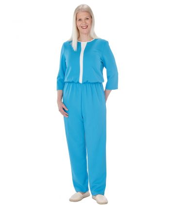 Women's Stay Dressed Jumpsuit with Full Back Zip