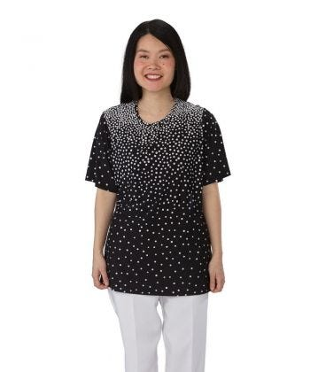 Adaptive Scoop Neck T Shirt For Women