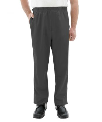 Pant Side Open Easy Touch in Gray