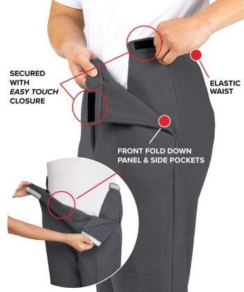 Men's Self Dressing Easy Access Pant