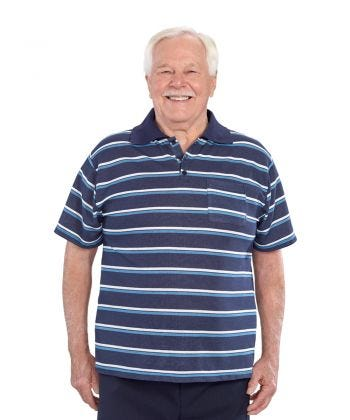 Mens Adaptive Golf Shirt Top