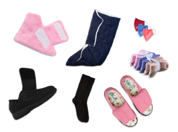 Women's Indoor & Outdoor Diabetic Footwear Kit (Cozy Comfort Collection)