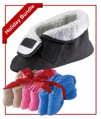Women's & Men's Footwear Comfort Bundle