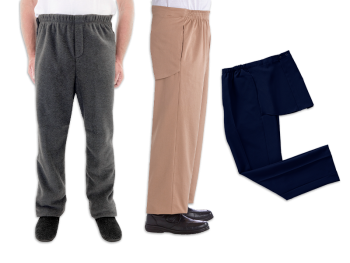 Men's Open Back Pants Set of 3