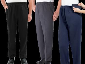 Men's Easy Touch ComfortSelf Dressing Pants Set of 3
