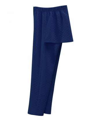 Women's Open Back Quilted Knit Track Suit Pant