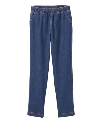 Women's Self Dressing Pull-on Jeans