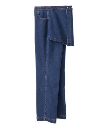 Women's Open Back Jeans