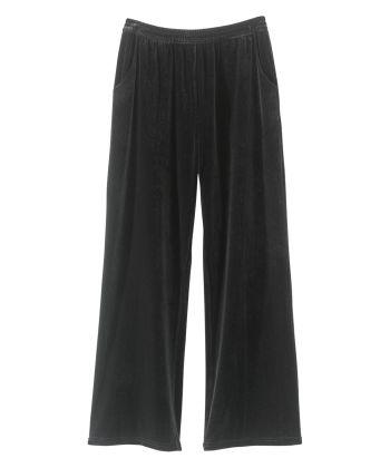 Women's Easy Grip Pull-On Wide Leg Pant